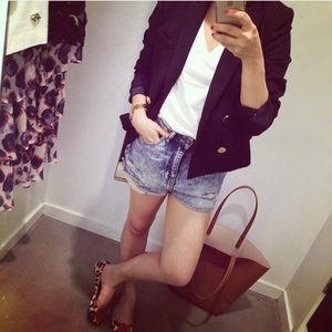 Zara Cropped Jacket